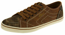 Womens S.Oliver Retro Lace Up Trainers Ladies Casual Shoes Distressed Pumps
