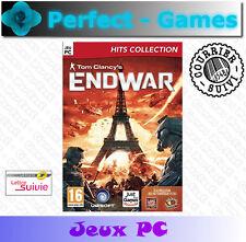 ENDWAR Tom Clancy's stratégie PC DVD Games jeux PC neuf new sous blister
