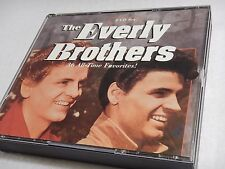 EVERLY BROTHERS 36 All Time Favorites 1994 - 3 CD Set 50s & 60s Oldies Rock
