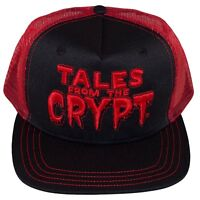 967d81f5975 Kreepsville 666 Tales from the Crypt Gothic Horror Red Trucker Hat Cap  HBTFCR