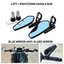 7/8'' Offroad Bike Motorcycle Bar End Rear View Side Rearview Mirrors Universal