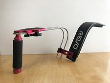 Revo SR-1000 Shoulder Support Rig (Red & Black), rig only