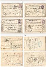 CPA précurseur Rouen Septembre 1876 lot 484