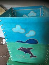 Dolphin lampshades (2)