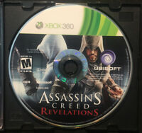 Assassin's Creed Revelations — Disc Only! Fast Free Shipping! (Xbox 360, 2011)