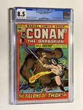 Conan The Barbarian 11 Cgc 8.5 Ow/w Pages Marvel Bronze Age