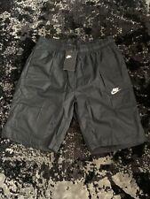 Brand New Nike Basketball Knee Length Shorts Size M BLACK