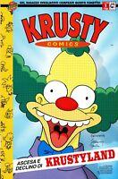 KRUSTY COMICS n. 1 - BONGO COMICS - MACCHIA NERA - EDICOLA
