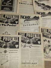 300 issues Phoenix Magazine 1940's