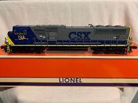 ✅K-LINE LAST LOCOMOTIVE PRODUCED BY LIONEL CSX SD70MAC DIESEL ENGINE 2-11557
