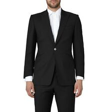 CHESTER BARRIE SAVILE ROW BLACK LABEL Wool MOHAIR Suit CB Suit Carrier UK38 IT48