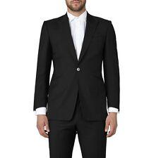 Chester Barrie Savile Row Black Label Lana & Mohair Suit + CB Tuta Carrier Nuovo con Etichetta