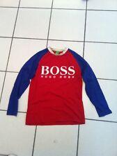 Rare T Shirt pull sweat hugo boss bleu et rouge