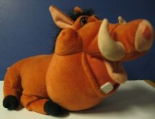 "Lion King Tootin Pumbaa 13"" Plush Farting Warthog 2003 Hasbro / Disney"