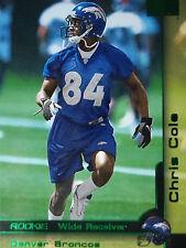 229 Chris Cole Denver Broncos Skybox 2000 Rookie
