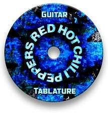Red Hot Chili Peppers Rock Guitar Tabs Tablature Lesson Software CD - Guitar Pro