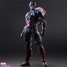 Square Enix - Play Arts Kai - Marvel Variant Captain America P.A.K.