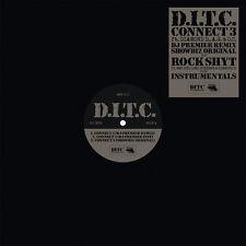 """D.I.T.C. – Connect 3 / Rockshyt - Slice-of-Spice SSR-071 NEW 12"""" SINGLE HIP HOP"""