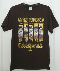 San Diego Padres MLB Graphic T-Shirt Myers Machado Tatis Jr Snell Darvish Small