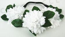 Boho Floral Flower bridal bridesmaids Festival Wedding Garland Hair Head Band 02