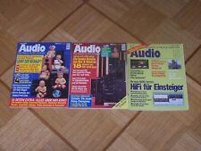 Drei mal Audio Zeitschrift