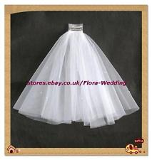 "2-Tier WHITE 1st Holy Communion/Bridal Wedding hen night Veil & pearls,18""L"