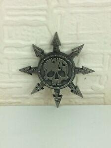 Games Workshop Warhammer Mark Of Chaos Pin Badge RARE Limited Edition