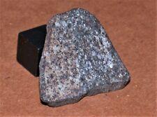 Zag-like Possible H3-6 (7.8 g) Nwa Chondrite meteorite crusted slice