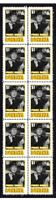 BONANZA TV STAR PURNELL ROBERTS STRIP OF 10 MINT VIGNETTE STAMPS 2