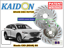 "Mazda CX9 brake disc rotor KAIDON (Rear) type ""BS"" / ""RS"" spec"