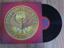 "EARTH WIND & FIRE ""BEST OF"" 1978 Record / Album signed by VERDINE WHITE COA"
