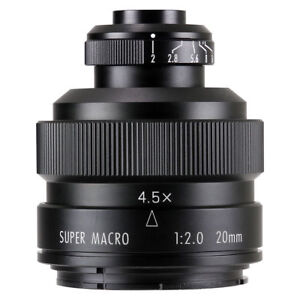 Zhongyi Mitakon 20mm f/2 4.5X Super Macro Lens for Nikon F mount D850 D810 D750