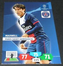 MAXWELL PARIS SAINT-GERMAIN PSG UEFA PANINI FOOTBALL CHAMPIONS LEAGUE 2013 2014