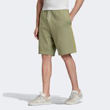 Adidas Originals Pantalones Cortos Hombre Verde Sólido Active Ropa Punto