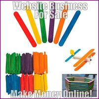 CRAFT SUPPLIES Website Earn £21 A SALE|FREE Domain|FREE Hosting|FREE Traffic
