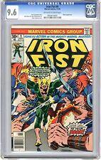 Iron Fist  #9  CGC  9.6  NM+   Off - wht to wht pgs  Chaka App. 11/76  J.Byrne &