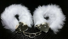 Couples Hand Cuffs Fluffy Hens Handcuffs Toy Furry Party Costume Sexy Bondage