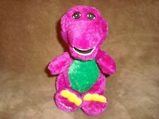 Barney The Purple Dinosaur Golden Bear Plush 10""