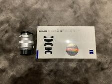 Mint Carl Zeiss ZM Distagon T* 35mm F/1.4 Lens for Leica M Mount With B+W Filter