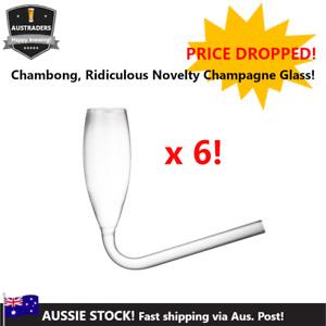 Chambong Novelty Champagne Glass x 6 Units