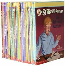 A TO Z MYSTERIES RON ROY SET LOT 26 PAPERBACK CHAPTER BOOKS ACCELERATED READ LN
