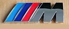 BMW M Sport Rear Sticker Badge M3 80 mm x 30 mm 3D CHROME