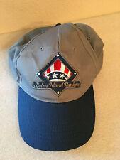 Staten Island Yankees Baseball Cap - Red, White, Blue Logo on Blue GrayCap