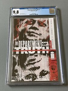Department of Truth #1 CGC 9.8 2020 Image Comics 1st Print - Best price On eBay
