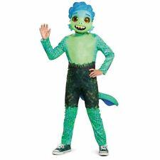 Luca Halloween Costume Disney Pixar Boy Sea Monster Suit Tail Mask XS 3T 4T 2021