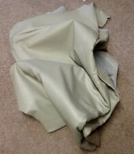 BR316 Leather Cow Hide Cowhide Upholstery Craft Fabric Bone Tan White 62 sq ft