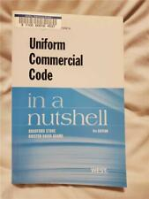 IN A NUTSHELL Law Guide UNIFORM COMMERCIAL CODE 8th Edition Stone Adams West