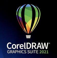 CorelDraw 2021 Suite - DVD - Full Retail Windows Version