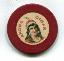 New listing Anona Cigar (M. Hyman Cigar & Importing Co.)Denver Co.Advertising Chip