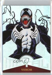 2017 Fleer Ultra Spider-Man Marvel Metal Patterned Venom #MM23 cj4